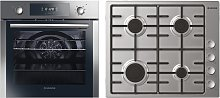 Hoover HPKGAS60X/E Oven and Gas Hob Pack