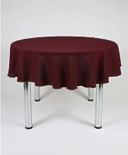 "Hope Textiles Dark Burgundy 58"" Diameter"