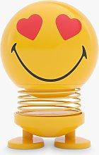 Hoptimist Smiley Desk Ornament, Small, Yellow