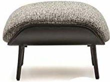 HOPUBO Casual Single Sofa Chair, Linen and PU
