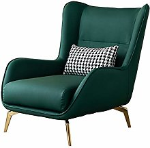HOPUBO Leather Single Sofa Chair, a Variety of