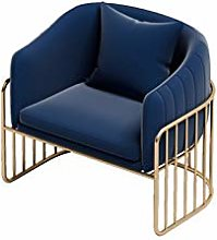 HOPUBO Simple Frame Single Sofa, Cafe Seating,
