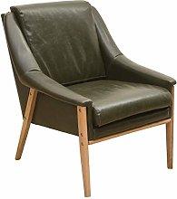 HOPUBO Simple Single Sofa Seat, PP Leather Sofa,