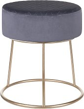 Horner Footstool Canora Grey Upholstery Colour: