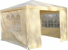 Horning 3m x 3m Steel Party Tent Sol 72 Outdoor