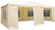 Hornsby 6m x 3m Steel Party Tent Sol 72 Outdoor