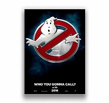 Horror Movie Ghostbusters Canvas Painting Poster