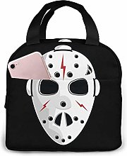 Horror Portable Lunch Bag Insulated Cooler Bag for