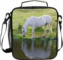 Horse Animal Pony Drinking Lunch Bag Insulated