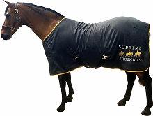 Horse Exercise Sheet (5´ 3') (Black/Gold) -
