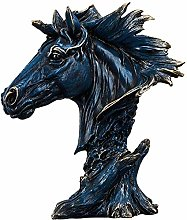 Horse Head Statues and Sculptures, Resin Animal