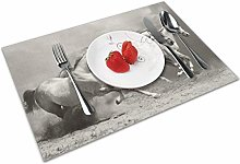 Horse Insulation Heat Resistant Table Mats Easy To