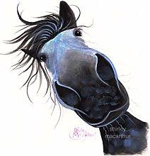 Horse Print (Equestrian Wall Art, Horse Print,