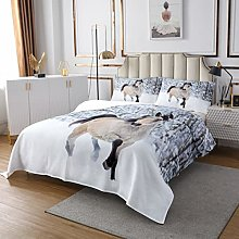 Horse Quilted Coverlet Galloping Horse Quilted