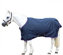Horse Turnout Rug (4´) (Navy/Red/Blue) - Everyday