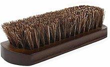 Horsehair Shoe Brush Horse Bristle Polishing Kit