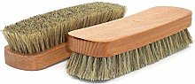 Horsehair Shoe Brush Soft Hair Brush Horsehair