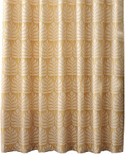 Horto Eyelet Curtains (90in x 54in) (Ochre Yellow)