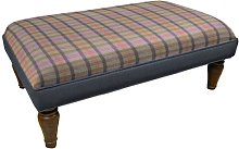 Horton Ottoman Union Rustic Upholstery: Celtic