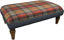 Horton Ottoman Union Rustic Upholstery: Orchard