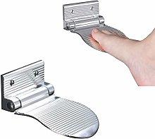 Hosoncovy Aluminum Alloy Bathroom Foot Rest