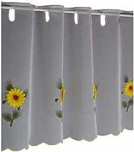 Hossner Window Curtain Sunflower Bistro Curtain