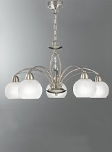 Hostetter 5-Light Shaded Chandelier ClassicLiving