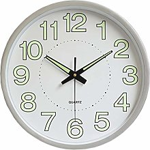 HOSTON 12 Inch Luminous Wall Clock Silent