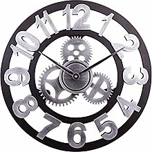 HOSTON 16 inch large wall clock silent Non-Ticking