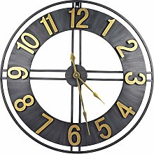 HOSTON 24 Inch Large Wall Clock Battery Operated