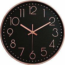 HOSTON Modern Wall Clock Silent Non-Ticking