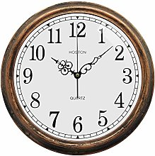 HOSTON Retro Wall Clock 13 Inch large Arabic