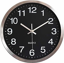 HOSTON wall clock outdoor clock 12 inch large