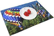 Hot Air Balloon Full Desktop Backgrounds Table mat