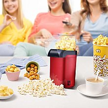Hot Air Popcorn Maker, 1200W Automatic Mini Fast