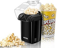 Hot Air Popcorn Maker, Aicok 1200W Retro Popcorn