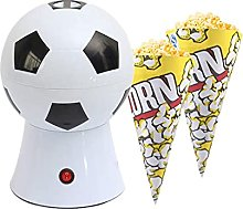 Hot Air Popcorn Maker, Football Air Poppers with