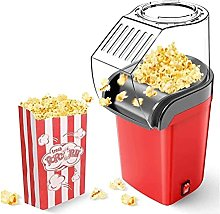 Hot Air Popcorn Popper for Home Movie Theater,