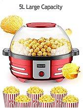 Hot Air Popcorn Popper Popcorn Machine with 2L