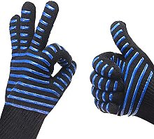 Hot BBQ Grilling Cooking Gloves, Extreme Heat