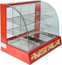 Hot Food Warmer Display Cabinet Counter Electric