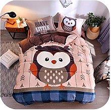 HOT-house Baby Bed Sheet Set, Bedding Set Flannel