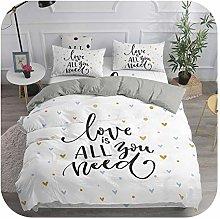 HOT-house Baby Crib Bedding Sets Girls, 3D Heart