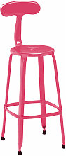 Hot Pink Disc Bar Chair - Premier Housewares