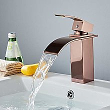 Hot Sale Waterfall Bathroom Faucet Deck Mounted