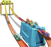 Hot Wheels Track Builder Multi-Lane Speed Gravity