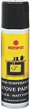 HOT200911 Spray Stove Paint Matt Black 150ml -
