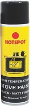 HOT200921 Spray Stove Paint Matt Black 250ml -