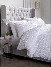 Hotel Collection Seersucker Cotton Duvet Cover Set