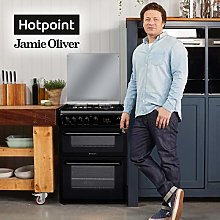 Hotpoint HAGL60K Freestanding Gas Rated Cooker